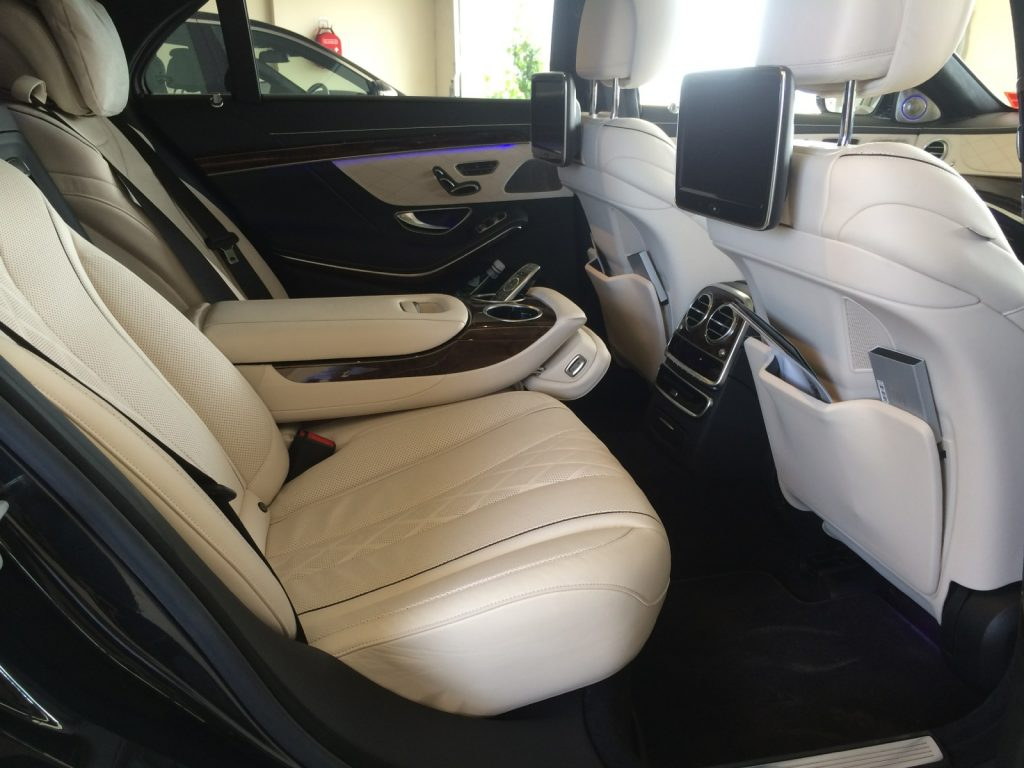 Chauffeur Geelong Mercedes Interior