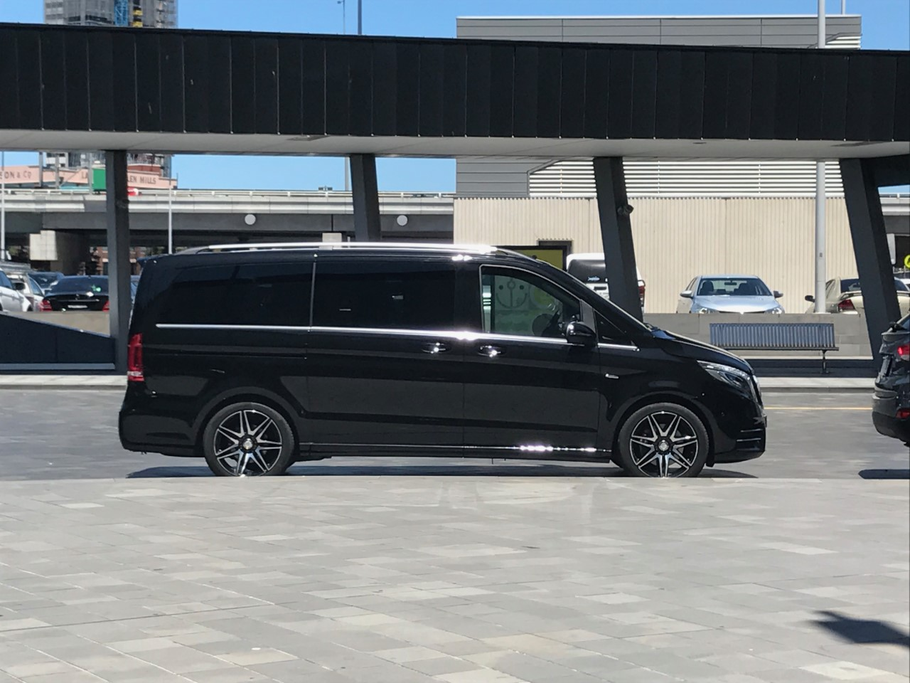 Van for private airport transfers Gold Coast