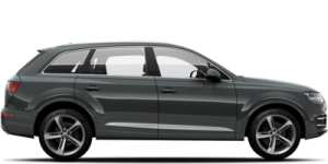 SUV audi Q7 Chauffeur driven cars Fleet