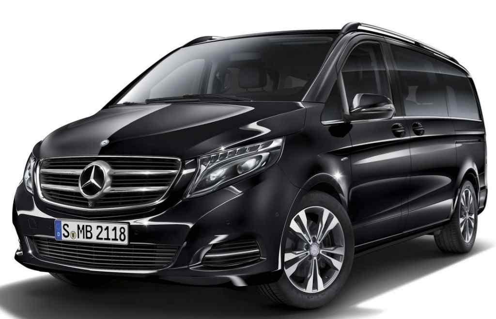Mercedes V class Chauffeur Vans Melbourne